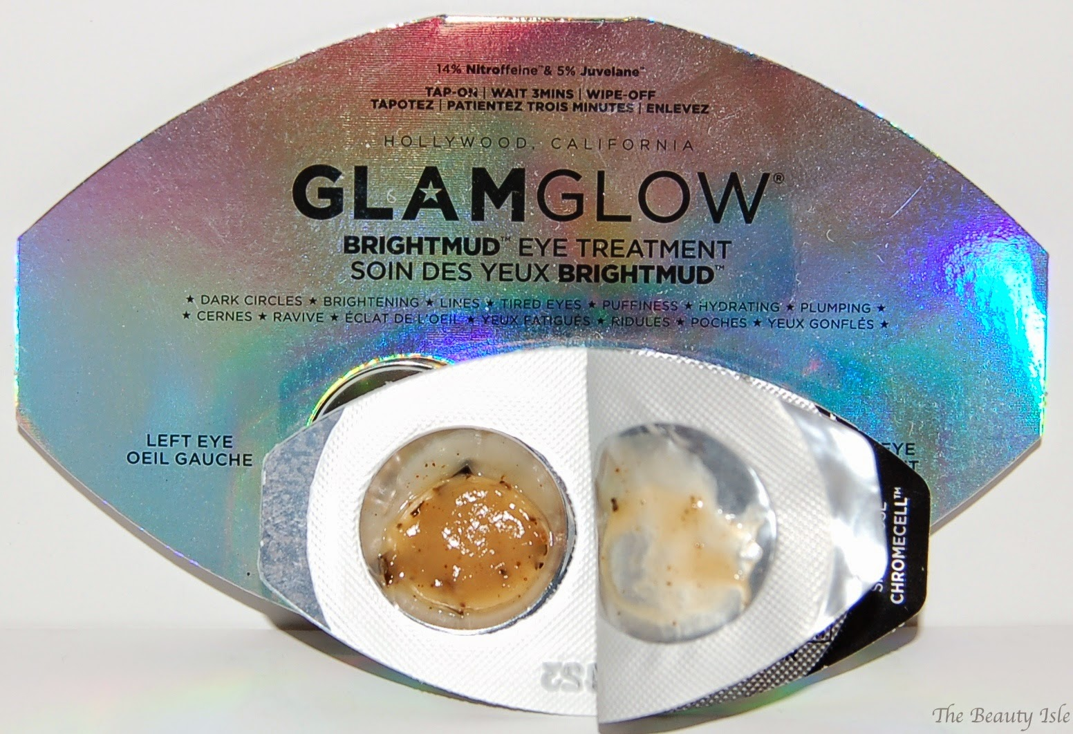 GlamGlow BrightMud Eye Mask