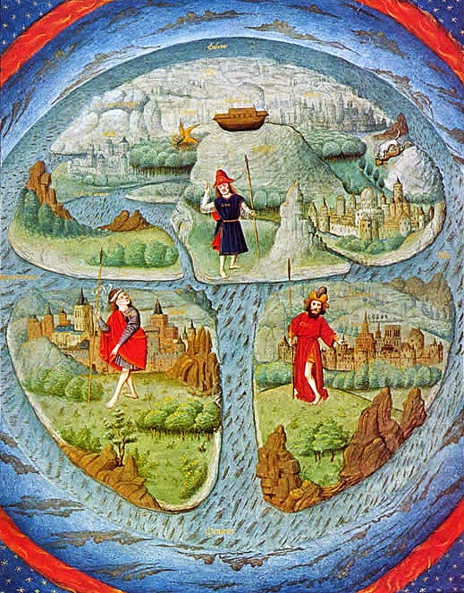 The Globe Earth Lie T-O_Mappa_mundi_z