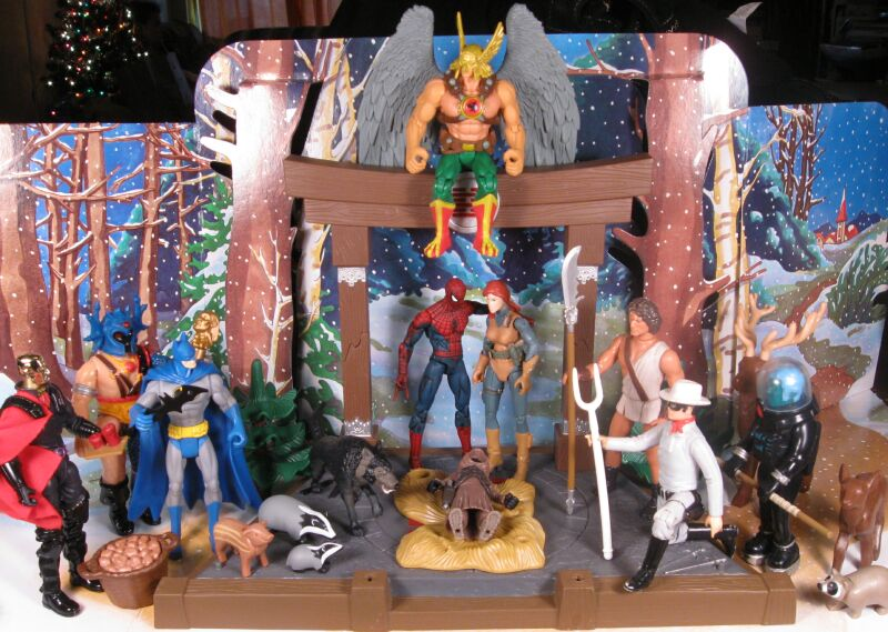 Lair of the Dork Horde: The 2011 Action Figure Nativity Contest!