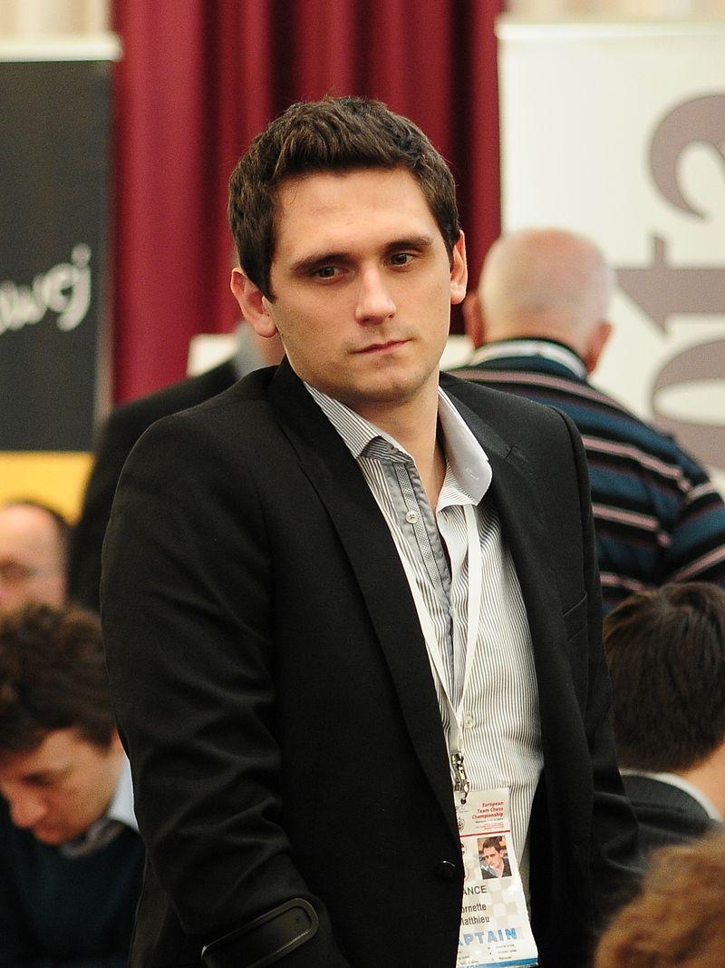 Le grand-maître d'échecs Matthieu Cornette © Chess & Strategy