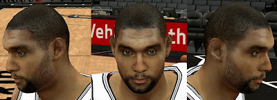2K Tim Duncan Realistic Face