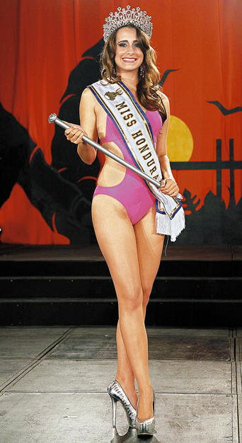 Miss Honduras 2013 Monica Elwin Gough