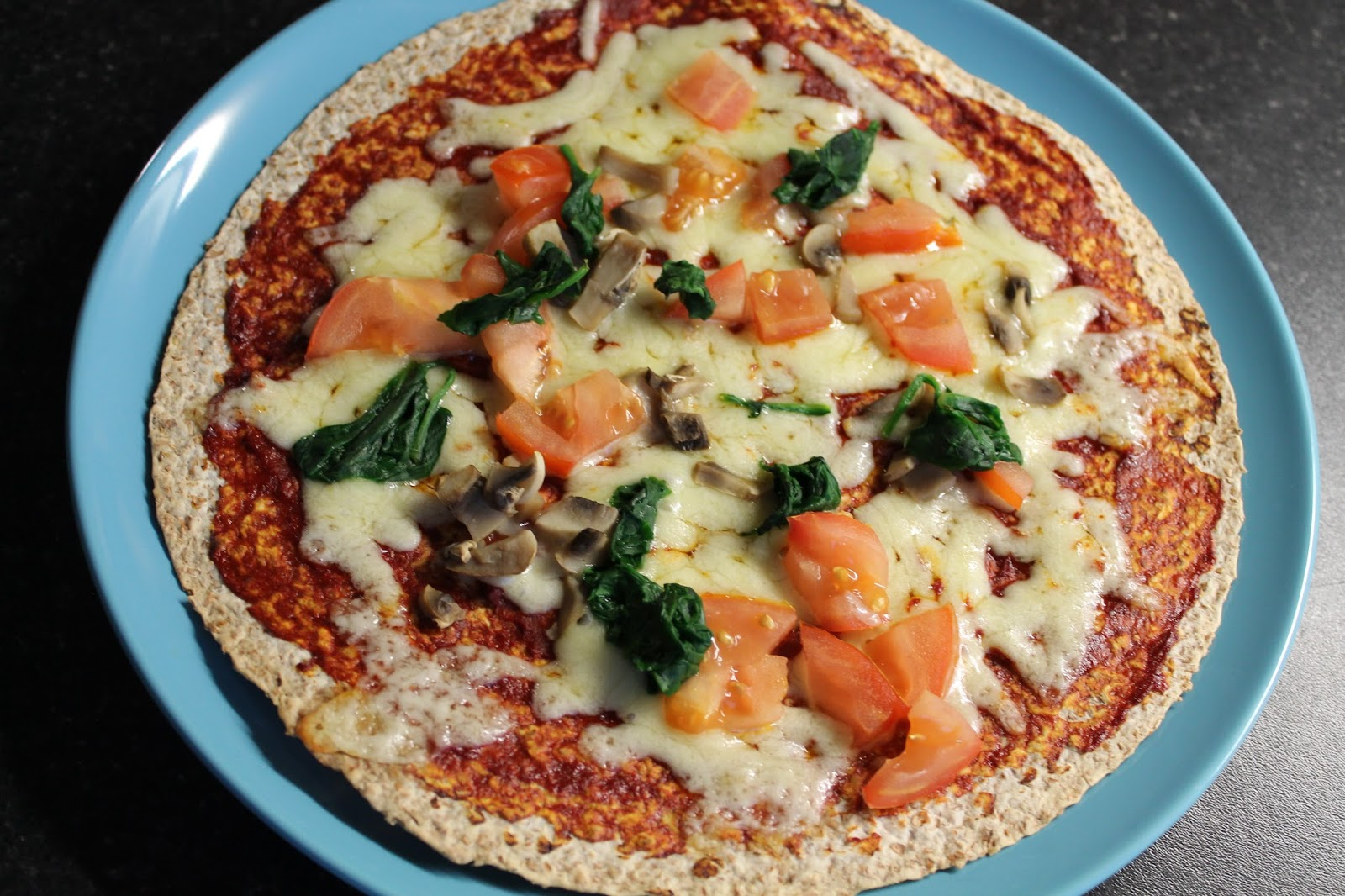 Tortilla Pizza - A Healthy Idea - Recipe