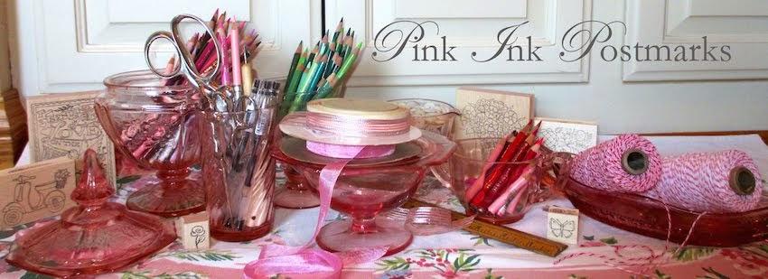 Pink Ink Postmarks