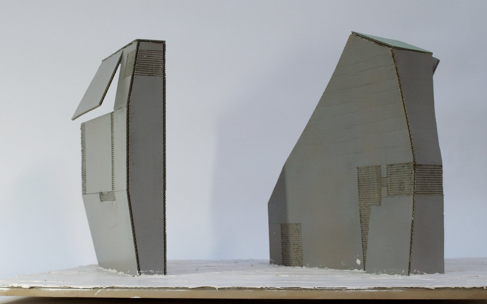 Twee gebouwen