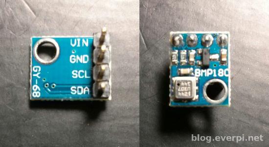 sensor de pressão BMP180