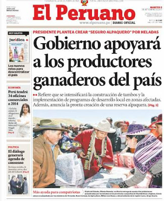 el peruano virtual 3 setiembre 2013