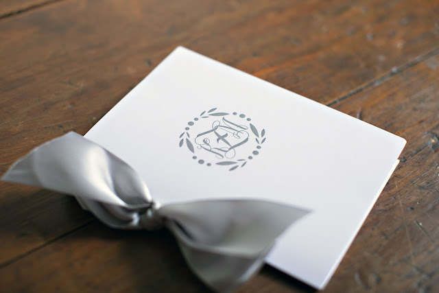 Custom Wedding Monogram Program