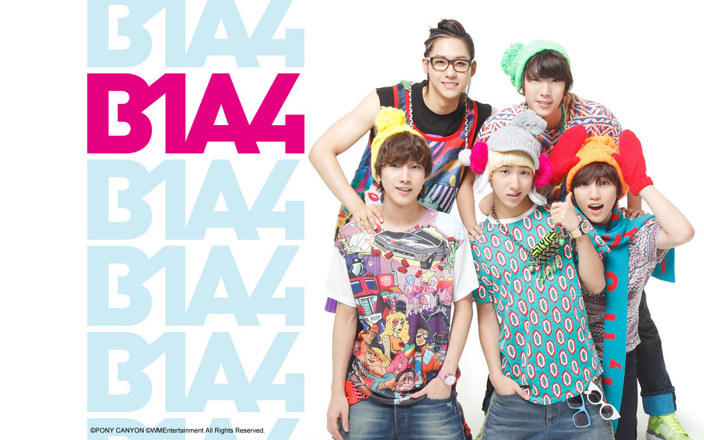 So whose wallpaper is your B1a4 Lonely Wallpaper