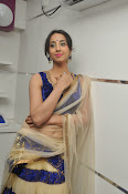 Sanjjana Latest Glam pics in saree-thumbnail-14