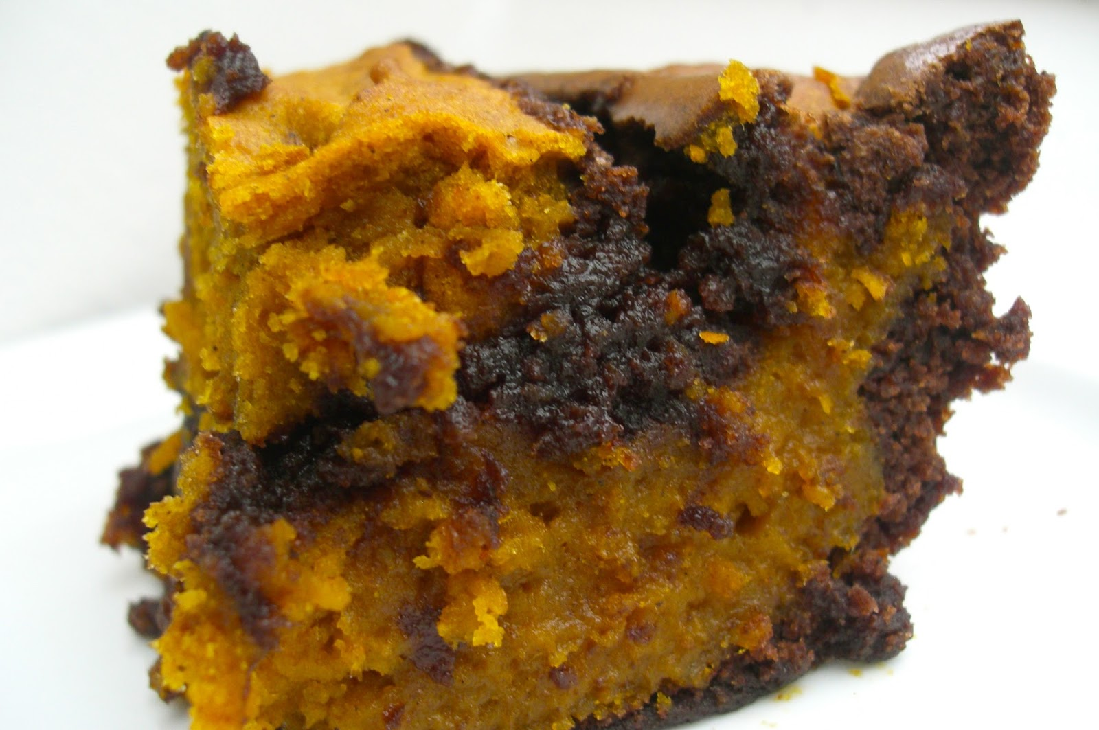 Pumpkin Swirl Brownies - Rhyme & Ribbons