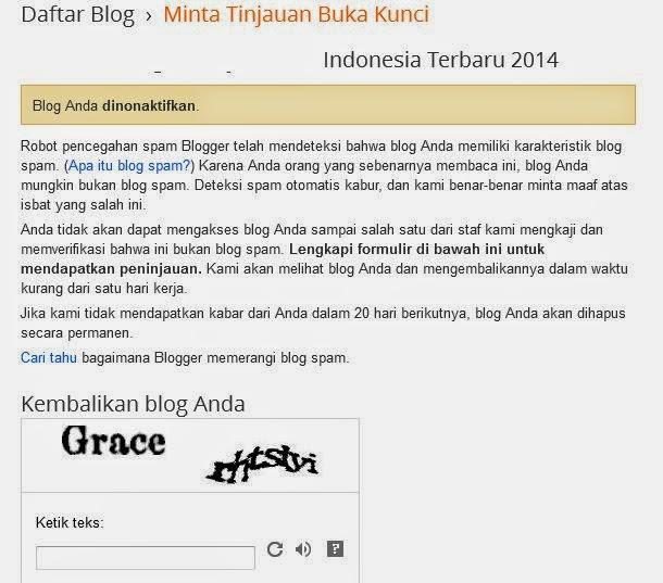 Cara Mengembalikan Blog Dihapus Google dalam 24 Jam