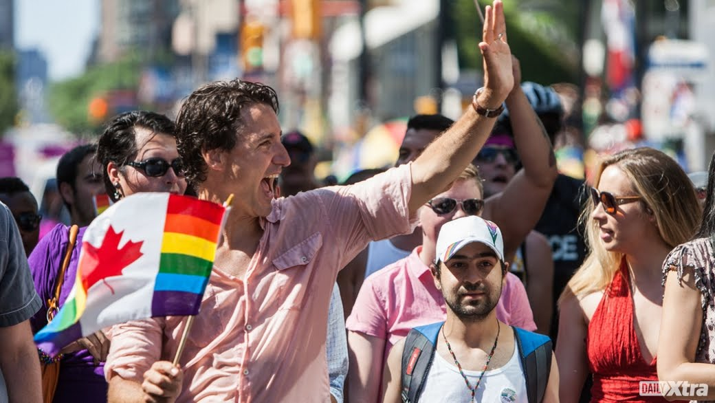 TRUDEAU LEADS LGBT RIGHTS ...