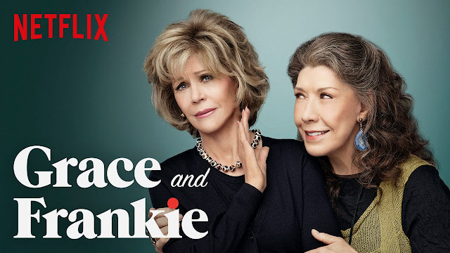 Watch Grace and Frankie on @Netflix Survive a Zinger of a Heartache #streamteam