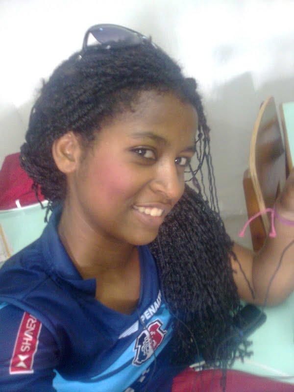 sou uma negra linda