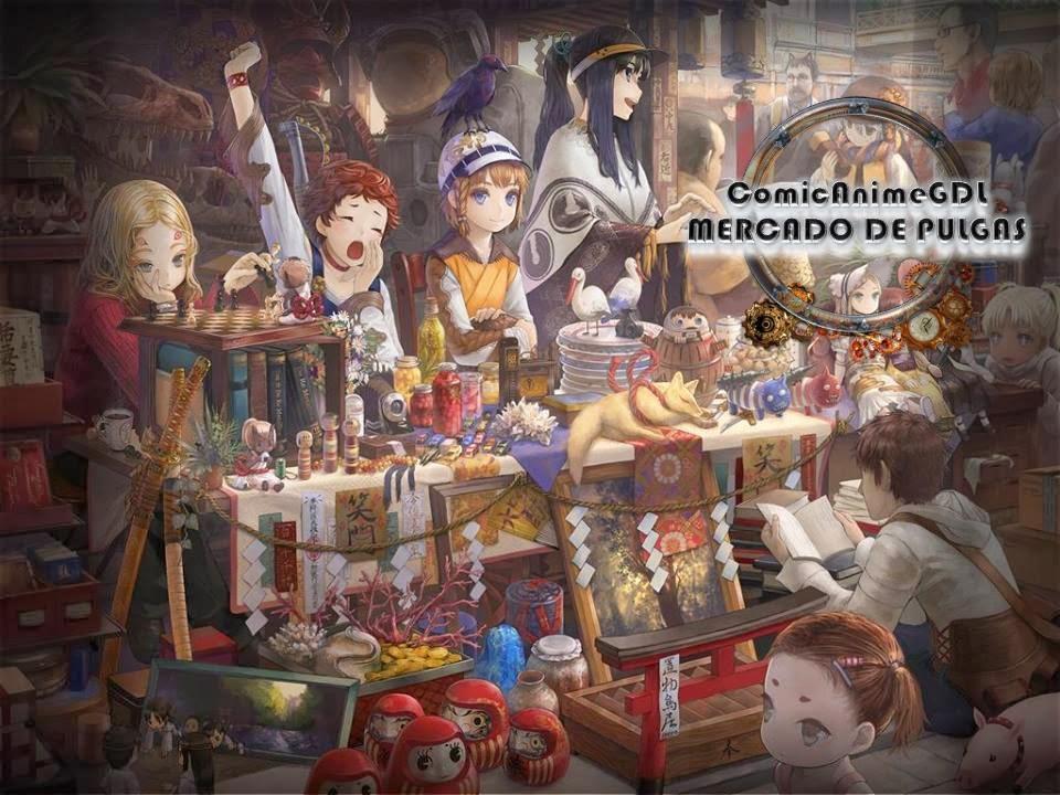 ComicanimeGDL -  Mercado de Pulgas