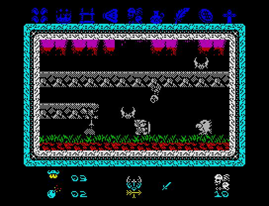 Knightmare 2 ZX alegra aún un poco más el cotarro del Spectrum