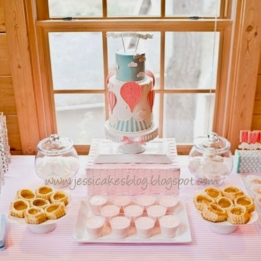Zoe La Mona Hot Air Balloon Theme Baby Shower Ideas And Inspirations