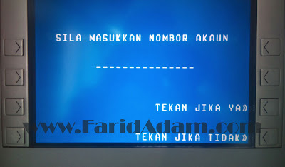 tambah pelaburan tabung haji dengan cash deposit machine maybank & bank islam