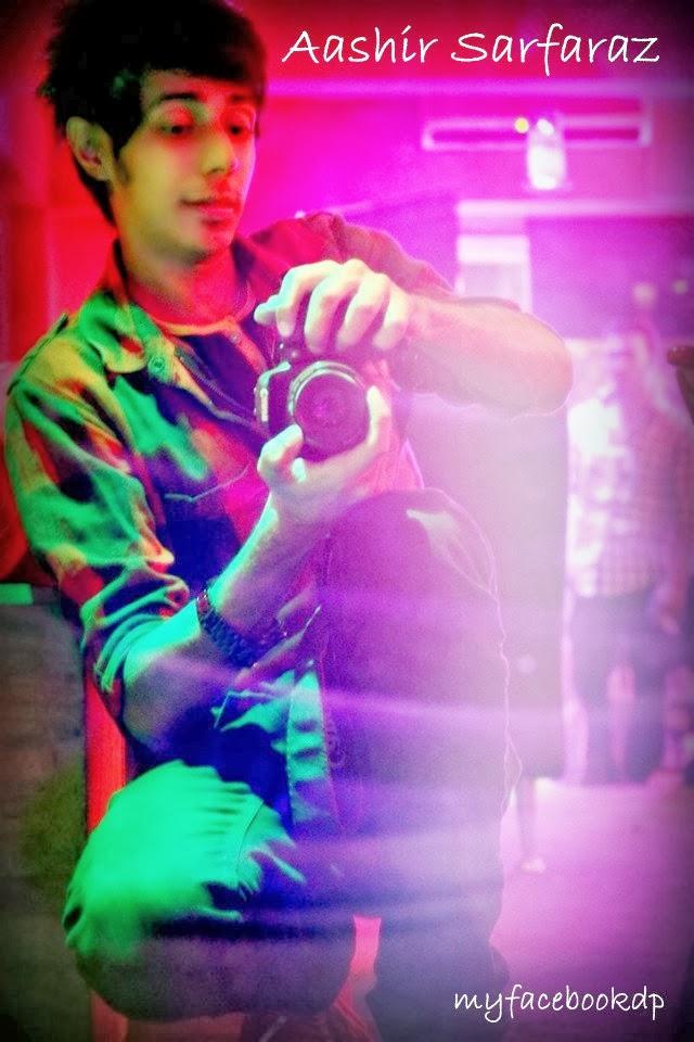 Stylish Boy FB DP Aashir Sarfaraz