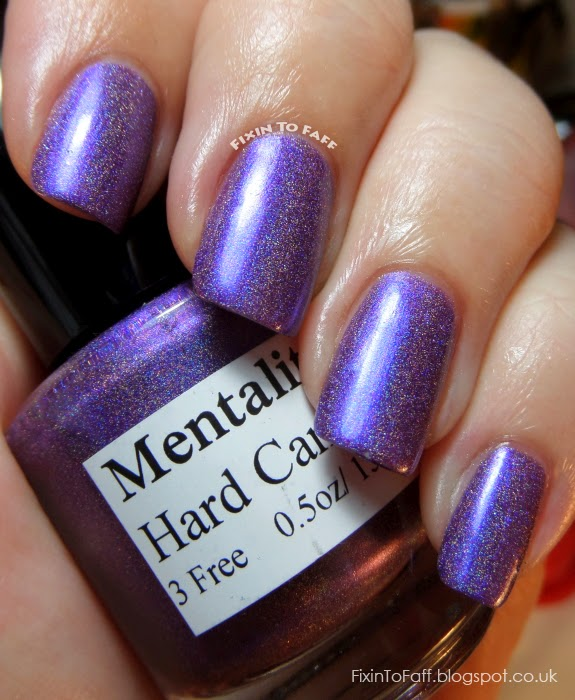 Mentality Hard Candy swatch