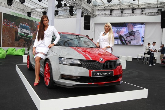 Skoda Rapid Sport concept