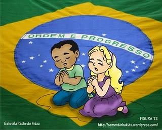 Vamos orar pelo Brasil.
