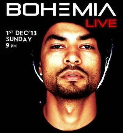 BOHEMIA Live at LEMP - Gurgaon (1st December 2013)