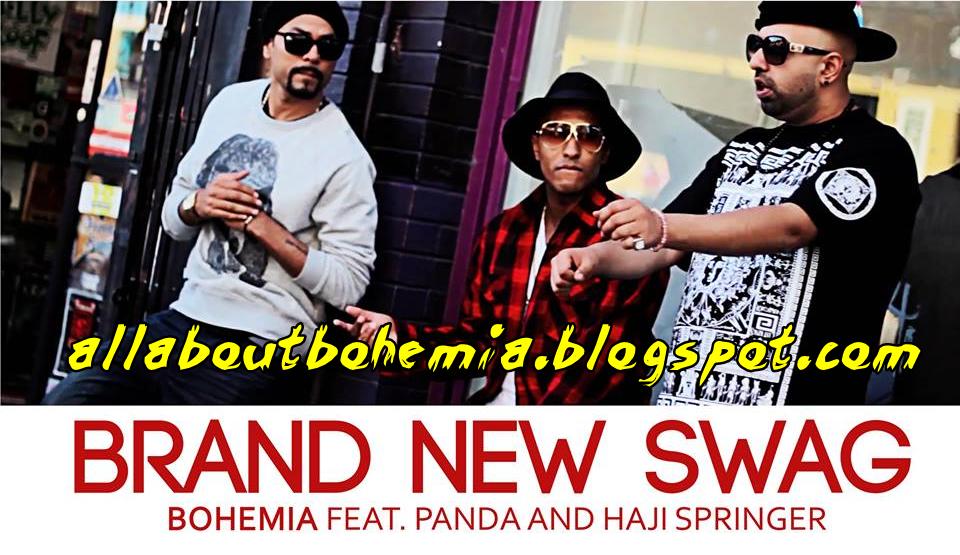 Bohemia - BRAND NEW SWAG Lyrics [By Bohemia] Ft. Haji Springer & Panda