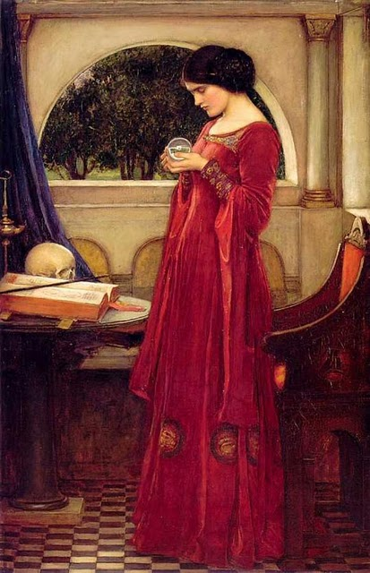 waterhouse crystal ball
