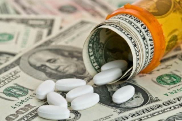 dinero farmacia