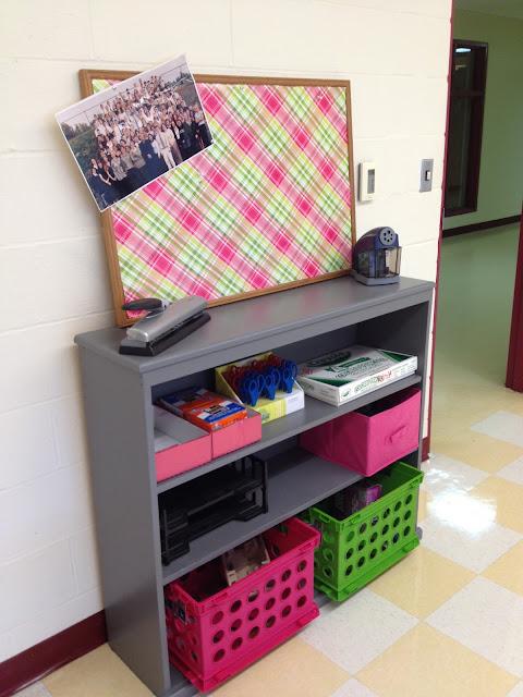 Classroom Bookshelf Decor