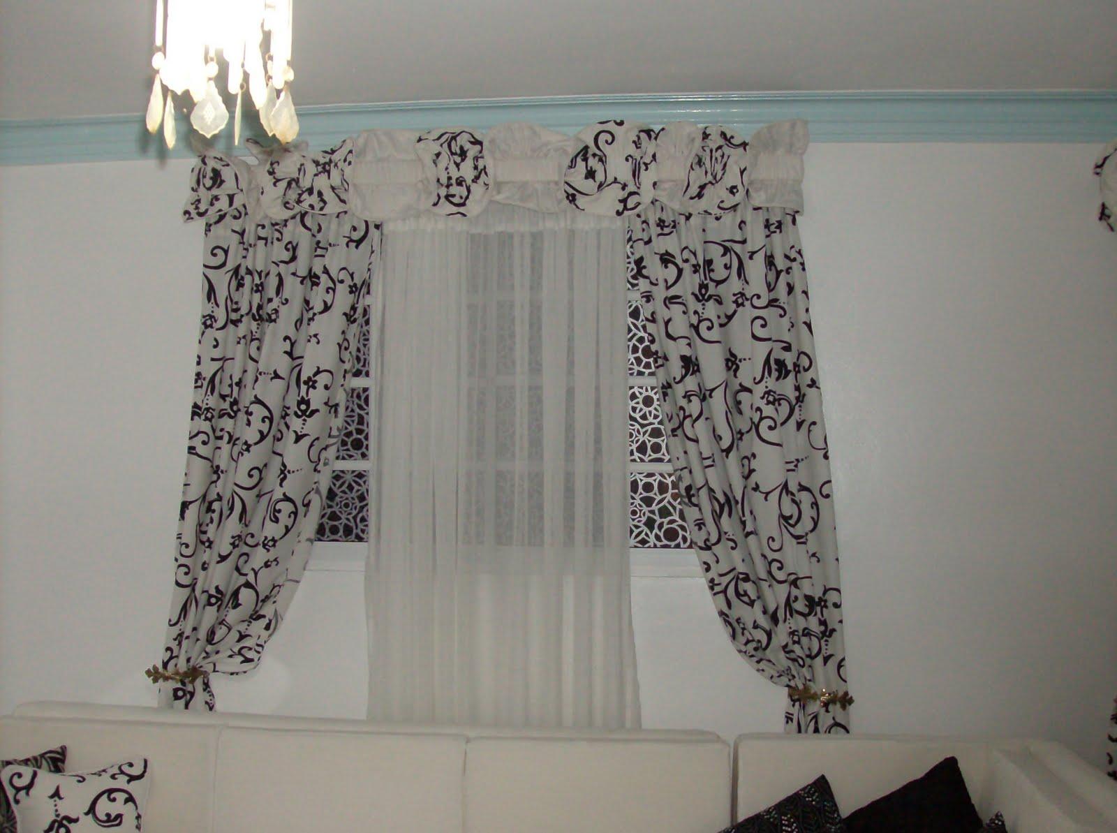 Decoracion comodidad y elegancia cenefas mariposas y for Cortinas en blanco