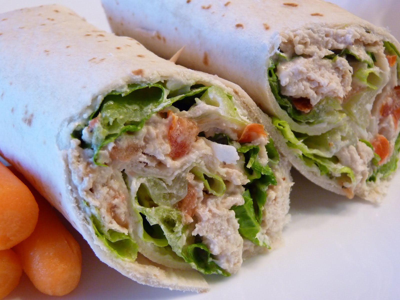 Fantastic Family Favorites: Chicken Caesar Wraps
