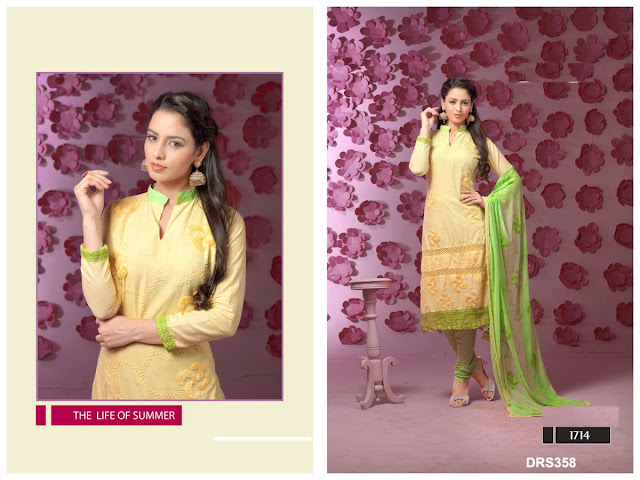 Attractive New Arrival Churidar Dress Matrial