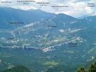 Panoràmica de la Serra d'Ensija i voltants des del Cap de la Coma Verda