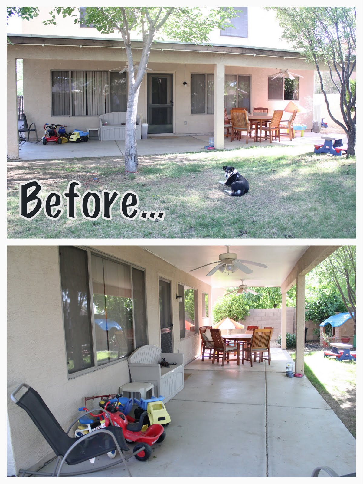 Awesome Backyard Makeover On A Budget