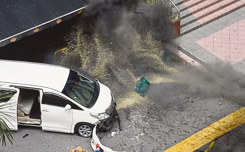 クアラルンプールのブキッ・ビンタン(Bukit Bintang)手榴弾爆発事件