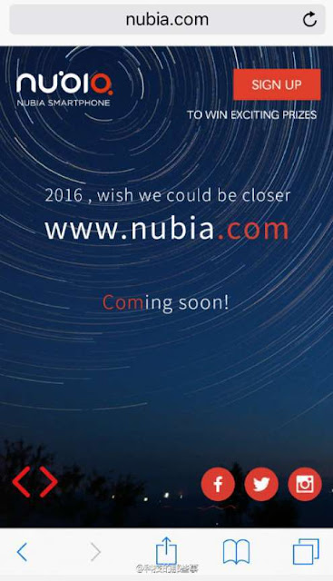 ZTE menghabiskan US$ 2 juta untuk membeli domain nubia.com