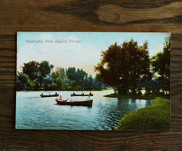 Washington Park Lagoon Chicago