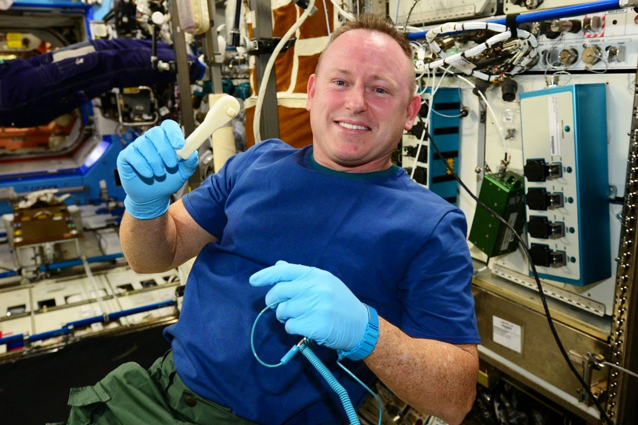 """3D Printing Now in Space. Tools and objects Made in Space"""""""
