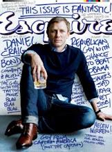 Daniel Craig es portada en el número de agosto 2011 de Esquire...