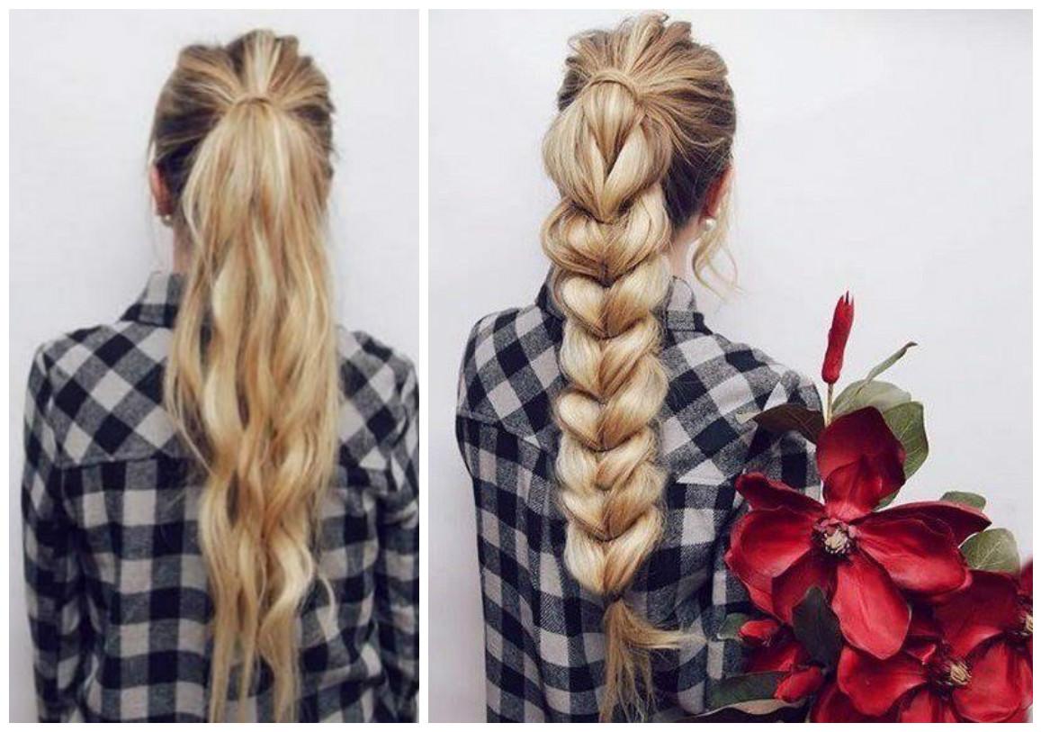 Peinados bonitos y f ciles con colas de caballo - Peinados bonitos paso a paso ...