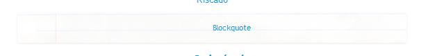 personalizaro blockquote