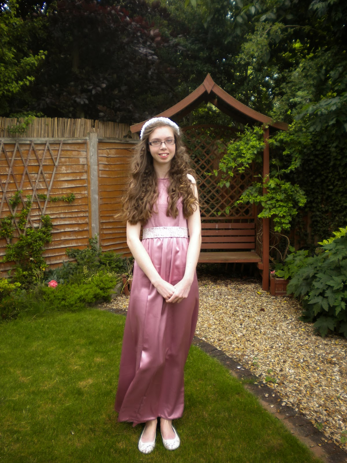 Lady Sewalot: My Prom dress!