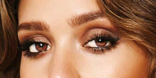 como maquillar smokey eyes en marron