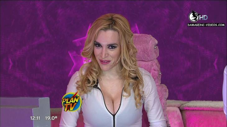 Argentina Actress Fatima Flores huge boobs cleavage in HD video