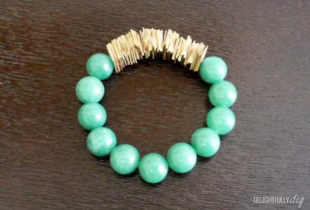Delightfully DIY: Upcycled Credit Card Bracelet