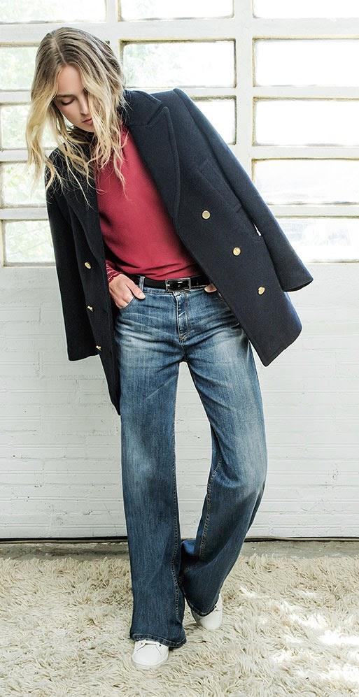 moda otoño invierno abrigos zara mango bershka h&mstradivarius lookbook