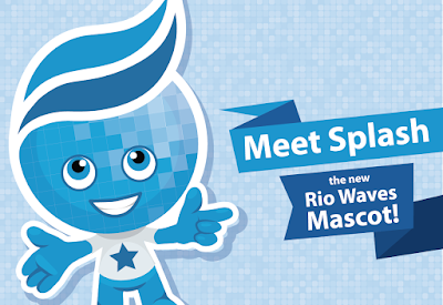 Meet Splash, the new Rio Waves Mascot!
